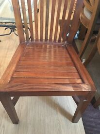 Dining room chair wooden