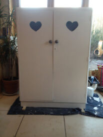 Small Wardrobe for sale, country cottage style.