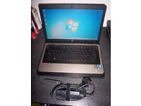 HP Laptop, E-450-1.65ghz dual core, Windows 7, 500gb Hdd, Wifi, Dvd-rw, 4Gb Memory, webcam