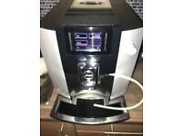 Jura E 6 bean to cup coffee machine