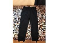 Black topshop trousers