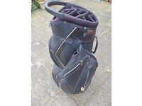 Powakaddy trolley bag with cover
