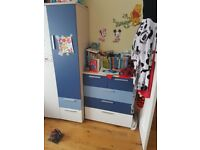 Great quality wardrobe & chest of drawers. Great condition & price. Satisfaction guaranteed.