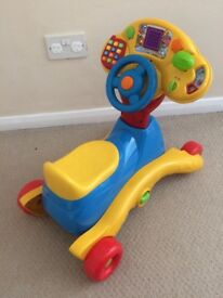 VTech grow and go ride on toy
