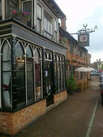 bar manager wanted to run friendly locally renowned village pub