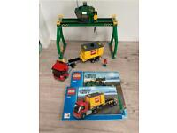 Lego trains crane and truck