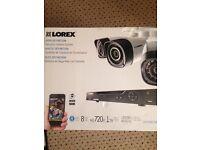 LOREX HD 8cameras with 1tb hard drive