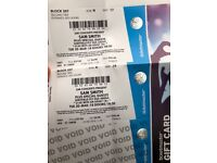 X2 sam smith seated tickets