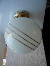 Spherical flush ceiling lights