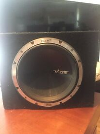 Vibe Blackair II + Subwoofer and Pyramid 1000w 2 channel amp Sub & Amp BARGAIN car modification