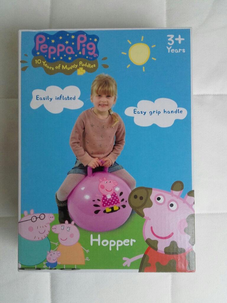 Peppa Pig space hopper – NEW
