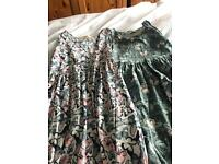 Two girls dresses from H&M age 7-8