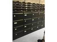 Black 4 draw filing cabinet