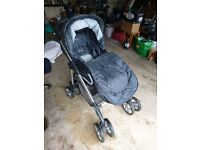 Silver Cross buggy pushchair pram - only occasional use, VGC