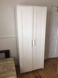 White wardrobe (good condition and full length size)