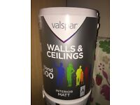 Valspar Paint - Colour: Modern Grey. 2 X 5L