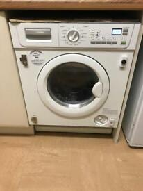 Integrated Electrolux washer dryer