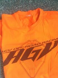 AGV off road racing L t shirt