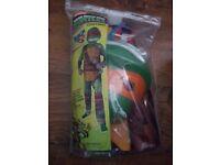 Ninja turtle jumpsuit/costium size 110-116cm