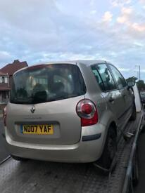 2007 Renault modus 1.5 dci breaking for parts