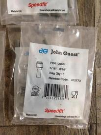 "John Guest Speedfit Reducer PI061006S 5/16""-3/16"" release code 412773 34 available"