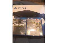 PlayStation 4 fifa17 cod IW