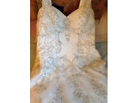 Wedding dress size 14/16