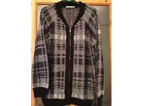 Wooly jacket/ Cardigan size 16