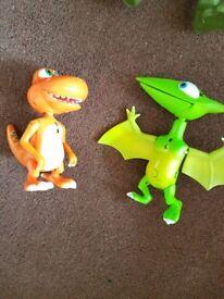 Dinosaur train figures