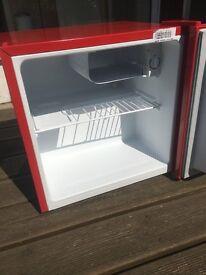 Mini Fridge Freezer- Russell Hobbs Red