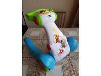 Chicco baby jogging ergo gym - mint condition!