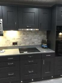 Large 10 unit display kitchen for sale!! Appliances included!!!