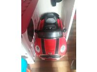 Kids electric red mini car with remote