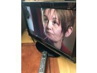 "Panasonic TV 26"" LCD with remote"
