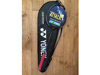 Yonex Astrox 77 4U (blue) with full cover and label. Used once for 5 mins to test. Strung at 27lbs