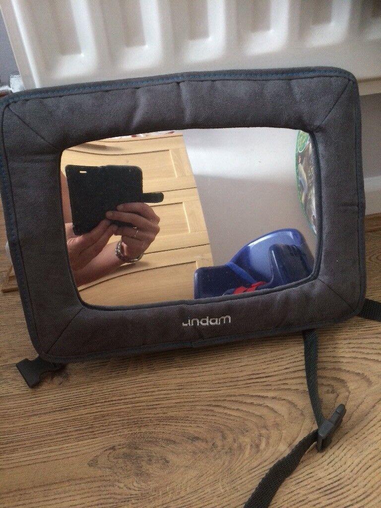 Lindam Adjustable Rear Facing Car Seat Mirror