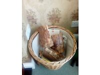 Log basket for sale
