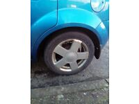 Ford 15 alloys with tyres