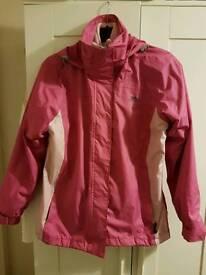 Waterproof tresspass jacket