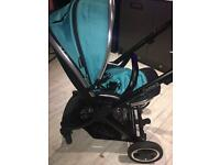 Oyster 2 pram 5 months old, still under warranty with receipt.