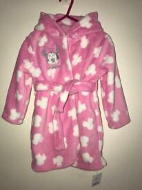 Brand New Girl's Dressing Gown