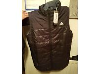 Mens adidas original bodywarmer