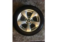 """16"""" BMW Alloy wheels with run flat tyres"""