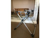 Silver Cross Metal Moses Basket / Car Seat Stand