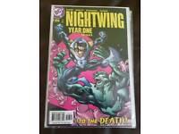 34 DC NIGHTWING Comics