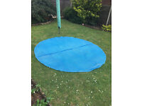 8ft floating solar pool cover fits Intex and Bestway pools