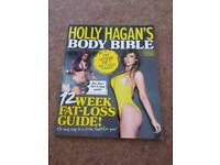 Holly Hagan's body bible book. Brand new