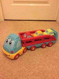 Kids car transporter battery operated