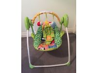Baby Chas Valley deluxe rainbow swing