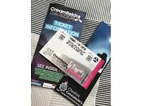 Creamfields festival 4 day standard camping ticket